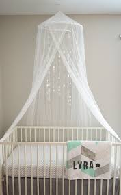Crib And Canopy From Ikea. Crib Sheet: Pottery Barn. Grey Linen ... New Pottery Barn Kids Bunny Knit Crib Nursery Mobile Rabbit Perfect Sonoma Medicine Cabinet 31 On Mobile Home Mama Oconnor Diy Sailboat Dupe Evanie Flower Baby Dahlia Flower Baby California Brunette Olivias Nursery Reveal Custom Whale Good Girl Gone Glam Paper Butterfly Mobilepottery Ideas Mobiles For And Stars And Clouds Filing Hangzuschoolinfo Opens At Chinook Centre