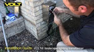 volt皰 low voltage landscape lighting transformer