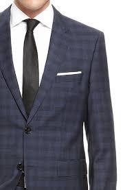 hugo plaid suit hugo the sharp regular fit wool plaid