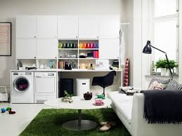 meuble machine à laver pour un coin buanderie pratique