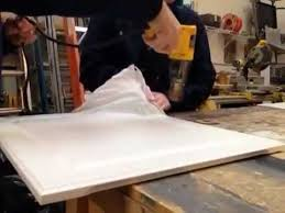 Thermofoil Cabinet Doors Peeling by How To Quickly Remove Thermofoil Youtube