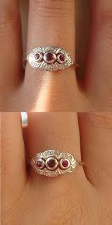 deco ruby and ring antique ruby engagement ring ideas trusty decor