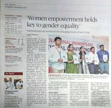 The Hindu Newspaper Article International Womens Day National Conference In Guntur March 2017