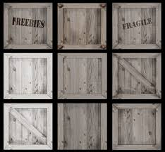 Full Permission Crate Or Wooden Box TexturesIdeal For Freebies