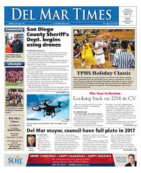 Christmas Tree Recycling East County San Diego by Del Mar Times 12 29 16 By Mainstreet Media Issuu