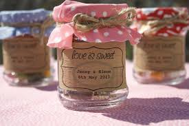 Cheap Jar Wedding Favors Ideas