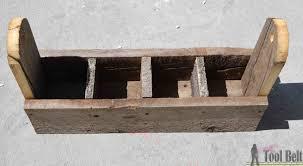 diy wood tool box caddy her tool belt