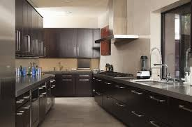 Kitchens With Dark Cabinets And Light Countertops by 75 Modern Kitchen Designs Photo Gallery Designing Idea