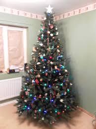 Slimline Christmas Trees Tesco by Paper Christmas Decorations To Make Christmas Ideas