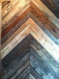 wood pallet chevron wall diy pinterest wood pallets
