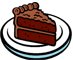 Chocolate clipart piece chocolate cake 2