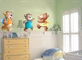 sticker mural chambre bébé chambre bebe ourson lit ours loading zoom chambre bebe ourson blanc