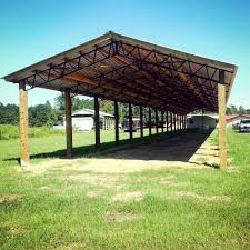 Florida Georgia Alabama Steel Truss Pole Barn