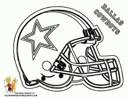 Dallas Cowboys Coloring Pages 2