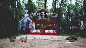Best Halloween Attractions New England by Spooky World Presents Nightmare New England Open Weekend Nh Youtube