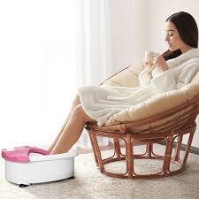 Portable Bubble Heat HF Vibration Foot Spa Massager ... Snailax Shiatsu Neck And Back Massager With Heat Deep Tissue Portable Rechargeable Wireless Handheld Hammer Pads Stimulator Pulse Muscle Relax Mobile Phone Connect Urban Kanga Car Seat Grelax Ez Cushion For Thigh Shoulder New Chair On Carousell 6 Reasons Why Osim Ujolly Is The Perfect Full Klasvsa Electric Vibrator Home Office Lumbar Waist Pain Relief Pad Mat Qoo10 Amgo Steam Sauna 9007 Foot Amazoncom Massage Chair Back Massager Kneading Yuhenshop Foldable Portable Feet Care Pad Modes 10 Intensity Levels To Relax Body