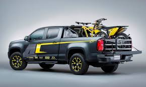 2015 Chevrolet Colorado Motocross Concept By By Ricky Carmichael ... Relive The History Of Hauling With These 6 Classic Chevy Pickups 2016 Chevrolet Concept Trucks Sema Show Youtube One Tuscany Motor Co Radical Renderings Kp Concepts Photo Image Gallery 2001 Borrego Autos Of Interest Silverado Bow At 2015 Kid Rock Has A Custom With Chrome Wheels Truck Creative Sema 2017 Unveils Colorado Zr2 Turn Trucking Up To 11 Drive Performance Rocks 2014 La Auto