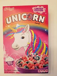 Kelloggs Unicorn Cereal Magic Cupcake 1 Box 10 OZ New Unopened