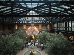 Openaire Builds Eye Catching Glass Roof Enclosure For New Restoration Hardware In Chicago