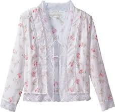 eileen west morning meadow lightweight bed jacket