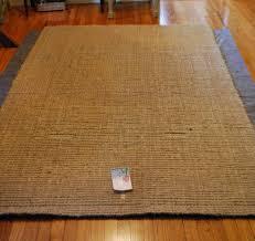 Orange Glo Hardwood Floors by This U0026 That Jute Rug Marks Non Solution