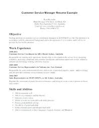 Resume For Call Center Customer Service Representative From Objective