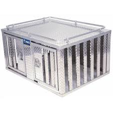 100 Uws Truck Boxes UWS DB4848 48 Southern Style Open Sided Double Door Dog Box