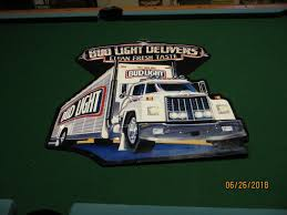 100 Bud Light Truck BUD LIGHT DELIVER CLEAN FRESH TASTES SEMI DELIVERY TRUCK ADVERTISE