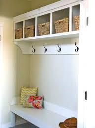 Mudroom Hook Ideas Coat White Custom Organizer With And