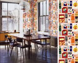 papier peint cuisine du papier peint dans la cuisine ou pas cocon de décoration le