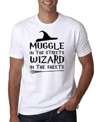 Ecf Help Desk Central District by Muggle In The Streets Wizard In The Sheets Men U0027s T Shirt Graphic