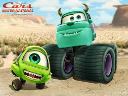 Monster Truck Mike And Sulley By Hinxlinx On DeviantArt
