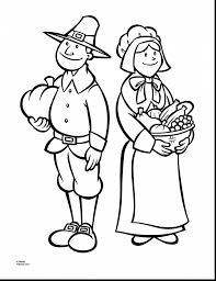 Magnificent Thanksgiving Pilgrim Printable Coloring Pages With Free And