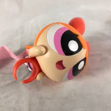 Mcdonalds Halloween Pails Ebay by Powerpuff Girls Blossom Action Figure Ring Toy 2016 Mcdonalds