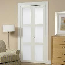 Closet Cool Bifold Closet Doors Lowes Ideas Custom Bifold Closet