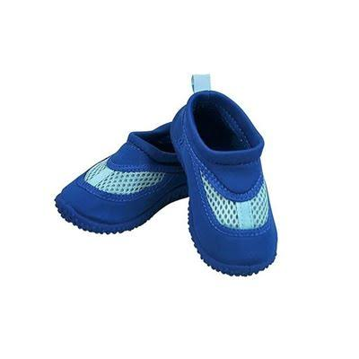 I Play Baby Unisex Swim Shoes - Royal Blu, 9 Months