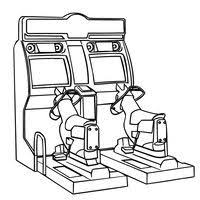 Print This Arcade Video Games Coloring Page And Have Fun It Any Way Youd Like