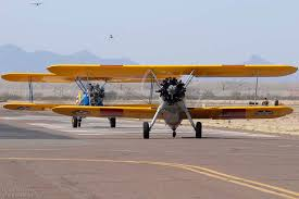 Stearmans At The Cactus Fly In Casa Grande On March 5 2011