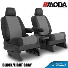 Coverking MODA Leatherette Custom Fit Seat Covers For RAM TRUCKS ...