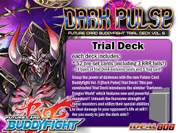 buddyfight trial deck 5 bfe td06 pulse future card buddyfight trial deck