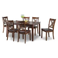 Bernards Ella 7 Piece Dining Table Set | Products In 2019 ... Kitchen Ding Room Fniture Ashley Homestore 42 Off Macys Chairs Mix Match Mycs Ding Chairs Joelix Best In 2019 Review Guide Amatop10 Rustic Counter Height Table Sets Odium Brown Fascating Modern Clearance Cool Skill Tables Shaker Set Of 4 Espresso Walmartcom Slime Teak Chair Teak Fniture White Pretty Studio Faux Octagon 3 Ways To Increase The Wikihow
