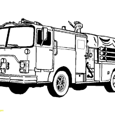 Truck Coloring Pages Fire Page Free Printable With | All Coloring Pages