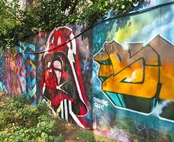Joe Strummer Mural Nyc Address by Darth Vader Mural The Worley Gig