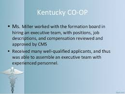 Kentucky Personnel Cabinet Position Description by Health Insurance Co Ops Consumer Operated And Oriented Health Plans