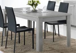 table de salle à manger contemporaine chêne gris buffet