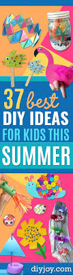 DIY Ideas For Kids To Make This Summer
