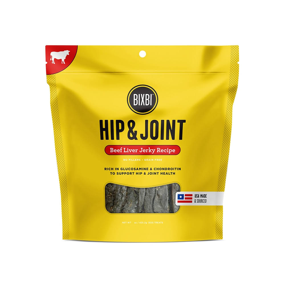 Bixbi Hip And Joint Premium - Beef Liver Jerky Recipe