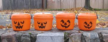 Mcdonalds Halloween Buckets by Sydlexia Com Mcdonald U0027s Halloween Pails Face Size 1985 Vs 1986