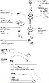 Moen Eva Faucet Leaking by White Handle Kit Moen Faucet Parts Repair Plumbing Parts Repair To