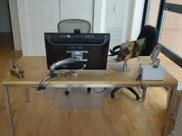 Ergotron Lx Desk Mount Notebook Arm by How I Cleaned Up My Desk Cabling U2013 Brent Ozar